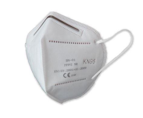KN95 Maske, Smileplus (20 Stk. Packung, gleichwertig FFP2) - Mund-/Nasenschutz