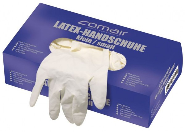 Einweghandschuhe, Latex gepudert, Größe XL